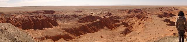 red mountains gobi desert