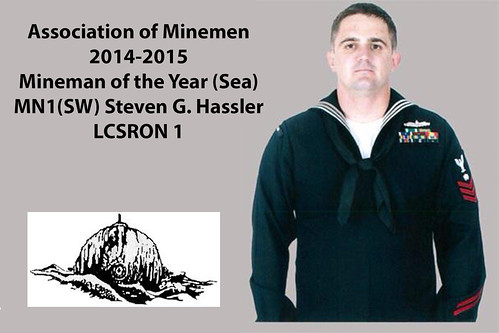 LCSRON 1 Sailor Named Mineman of the Year