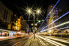 Princes Street Light Trails 2014