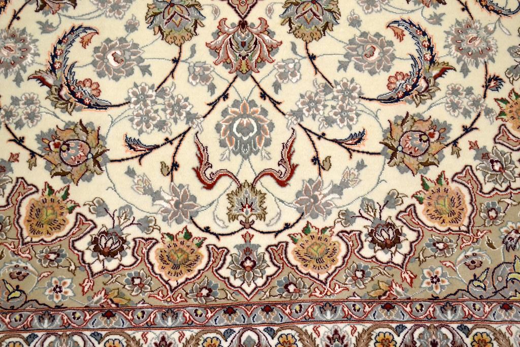 Isfahan Fine 7x10 persian Area Rug Earth Tone Color (7)