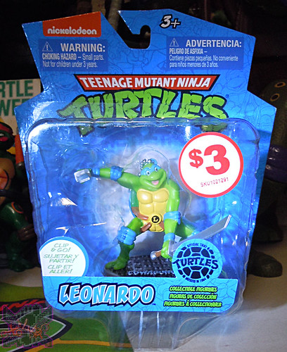 MONOGRAM INTERNATIONAL :: TEENAGE MUTANT NINJA TURTLES; COLLECTIBLE FIGURINES iii / LEONARDO  (( 2014 ))