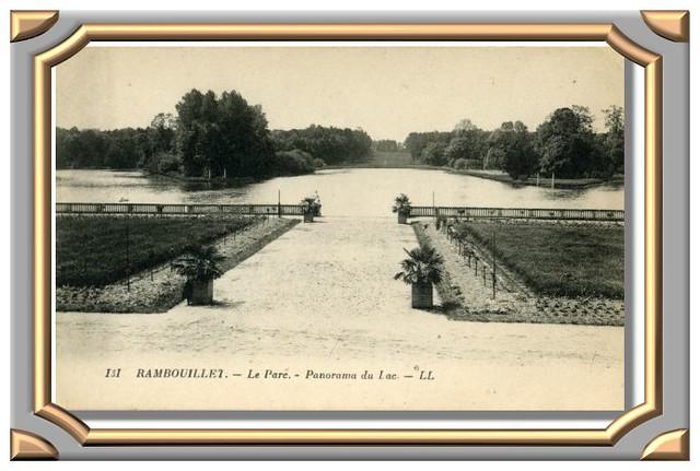131 RAMBOUILLET. - Le Parc. - Panorama du Lac. - LL
