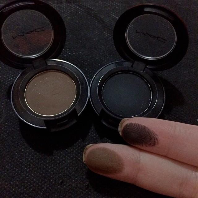 As minhas sombras preferidas da Mac
