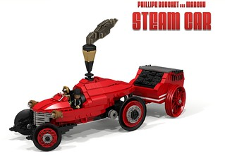 Manchu Steam Car (Philippe Bouchet aka Manchu)