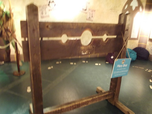 Galleries of Justice Museum - High Pavement, Nottingham - Free Exhibitions - Robin Hood: The Rise of a Rebel - Pillory shot