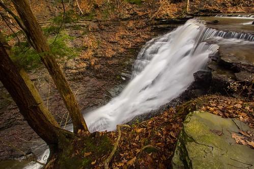 waterfalls attica wny wyomingcounty cascadefalls cascaderd
