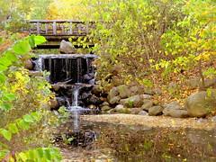 Binnan Bridge and Waterfalls