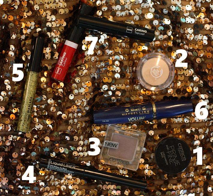gold eyeliner tutorial hema catrice gosh