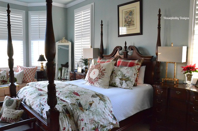 Master Bedroom-Christmas 2014-Housepitality Designs