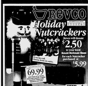 Revco used to be all about the nutcrackers (12/1/1991)