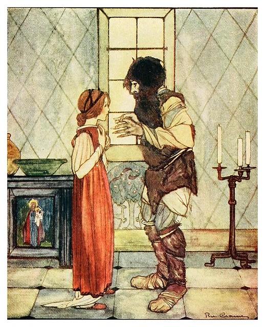 007- El niño de oro-Grimm's fairy tales-1927-Ilust. Rie Cramer
