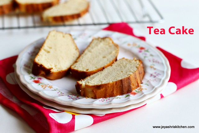 Eggless-tea cake