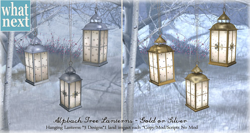 {what next} Alpbach Tree Lanterns for FLF