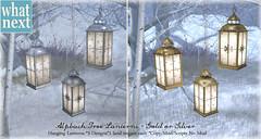 {what next} Alpbach Tree Lanterns for FLF