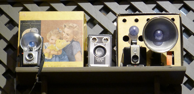 Image of the Week for 12-22-14: Classic Cameras on a Shelf