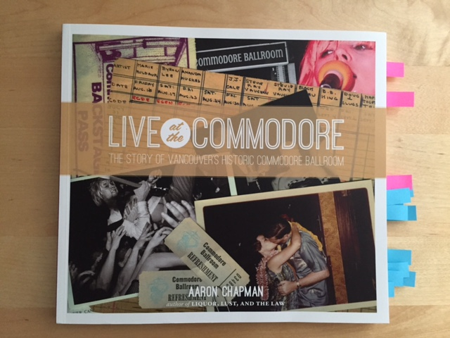 Live at the Commodore by Aaron Chapman