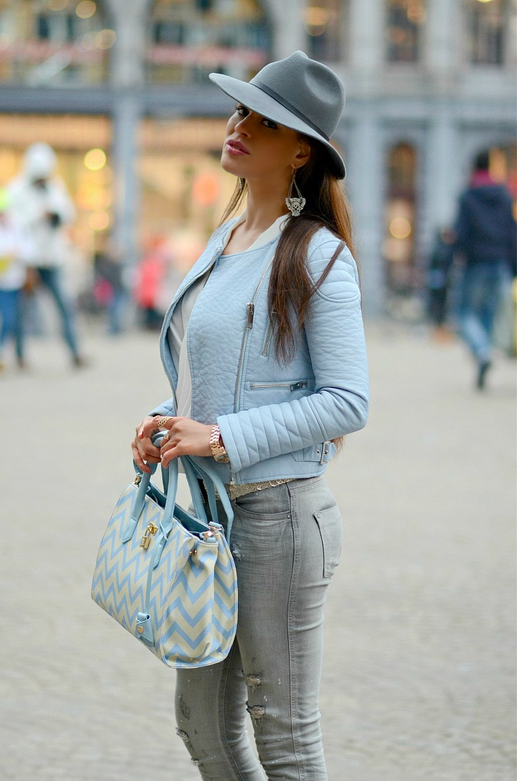 DSC_0584 Pomikaki bag, Zara baby Blue moto jacket, Tamara Chloé, Myca Couture3