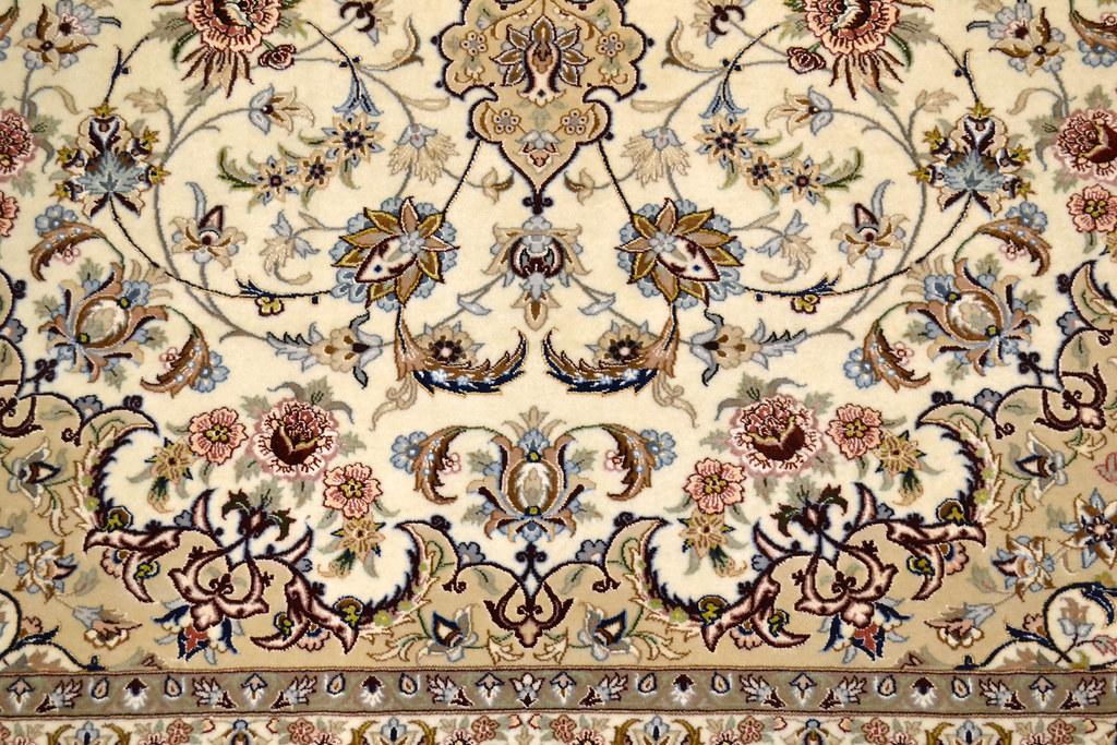 Fine Isfahan Esfahan Persian Area Rug 7x10 (8)