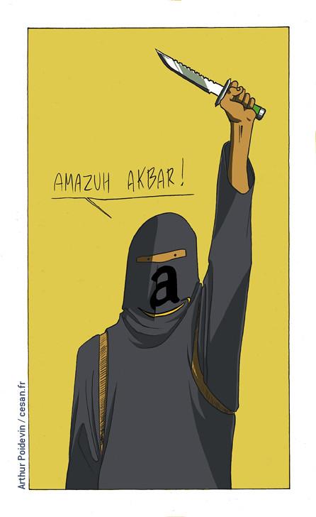 Une entreprise terroriste qui vend des livres : Amazon ou l'islamisme radical (Wylie), par Arthur Poidevin