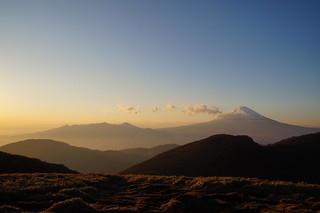 098 Mount Fuji vanaf mt Komagatake