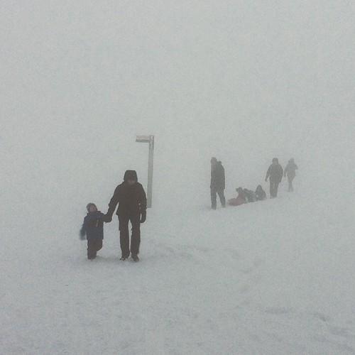 Expédition Arctique. #autrans #whiteout
