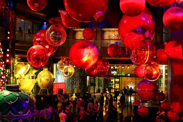 Christmas 2014 at Crown Melbourne, Australia