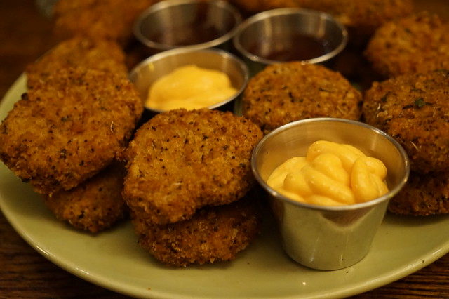 Seasoned Vegan - Chicken nuggets