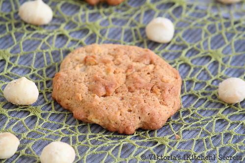 Apfel-Macadamia Cookies, Viktoria's [Kitchen] Secrets