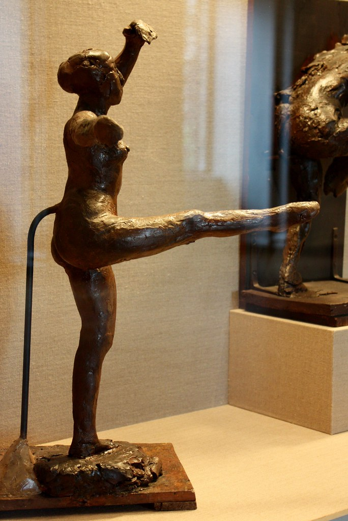 Degas Dancer Fourth Position