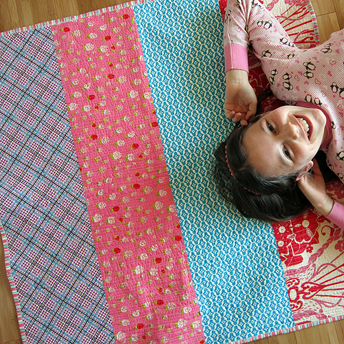 Aria's quilt for Eleni