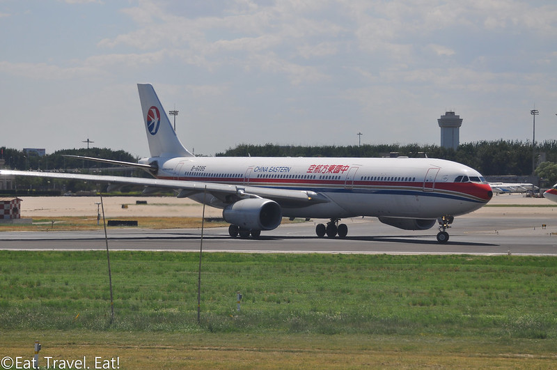 China Eastern A330 at Beijing Capital International Airport (PEK)
