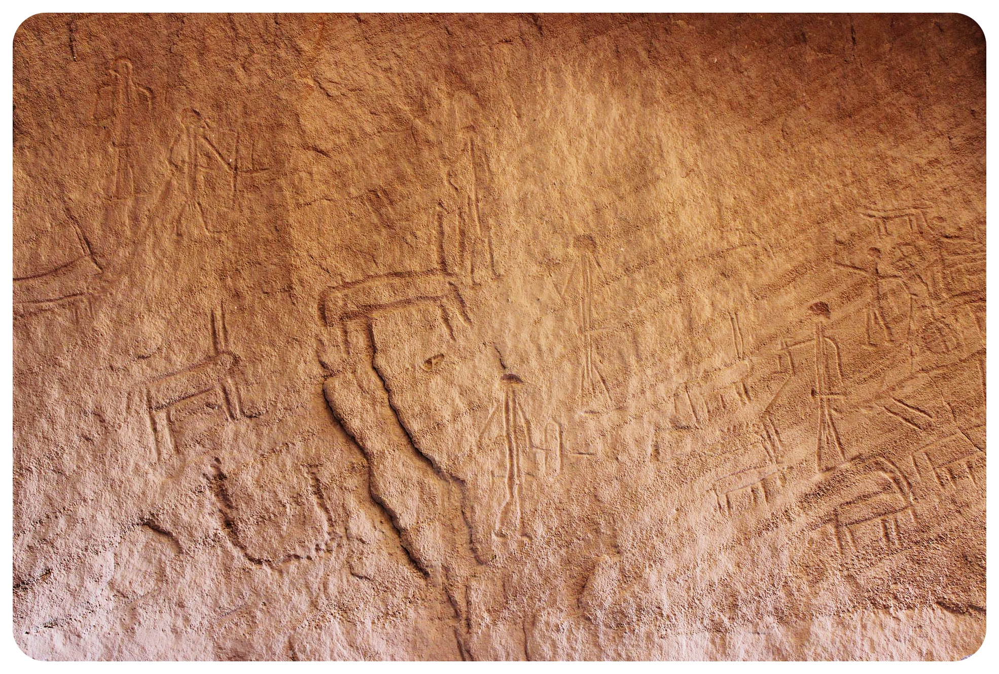 timna park israel cave drawings