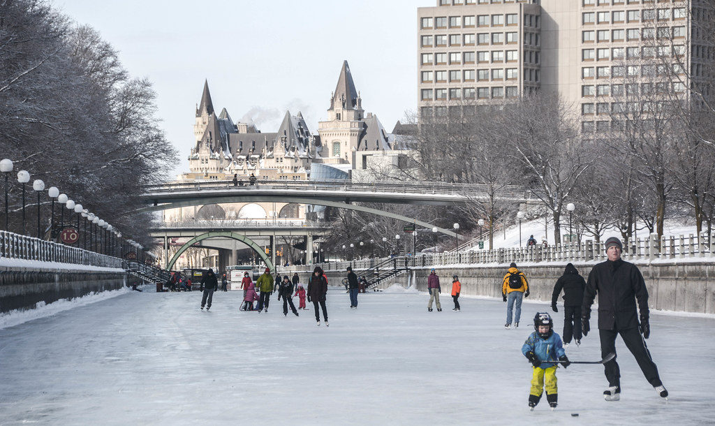 First day of the 2015 Rideau Canal Skate Season! : January 10, 2015