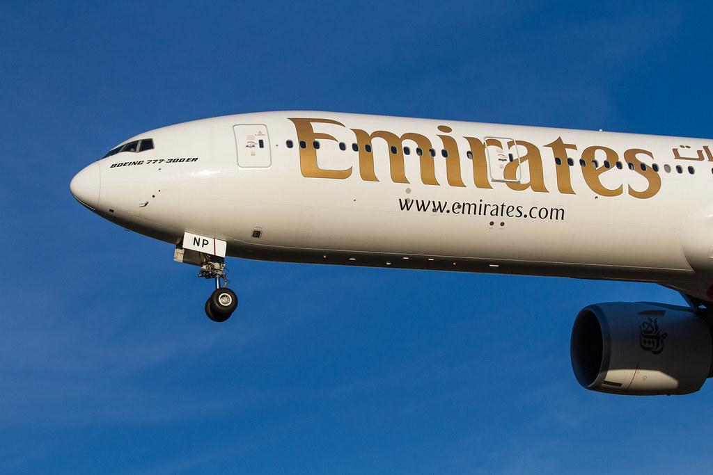 A6-ENP - B77W - Emirates