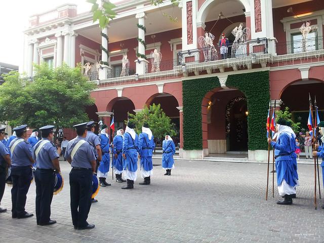 Cambio de Guardia en el CCB