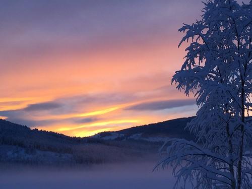 schnee sunset sun white snow norway soleil norge sonne kar beitostølen snø helios güneş weis valdres