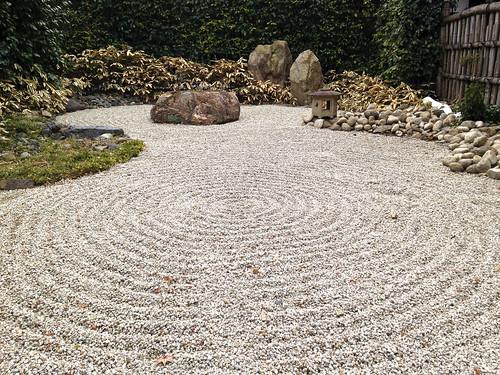 Shoren-in rock garden