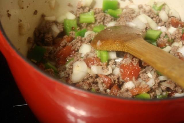 Stuffed Bell Pepper Soup