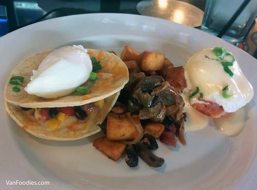 Eggs Benedict, Hangover Hash & Huevos Rancheros