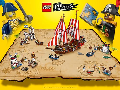 LEGO Pirates Map