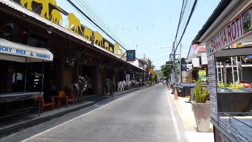 Koh Samui Bophut Beach Road