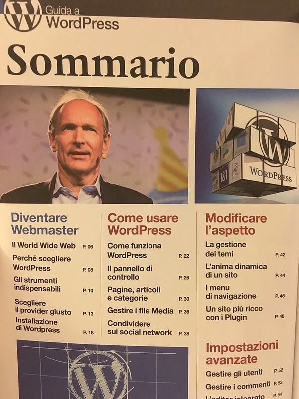 WordPress Sommario