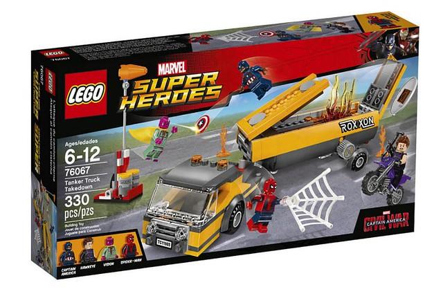 LEGO 76067 Tanker Truck Takedown