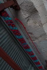Yarn bombing Besançon 28
