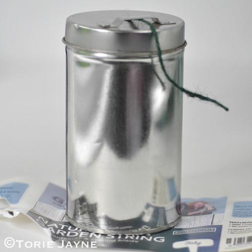Twine tin with Washi Tape Tutorial