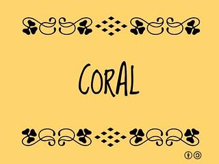 Buzzword Bingo: Coral