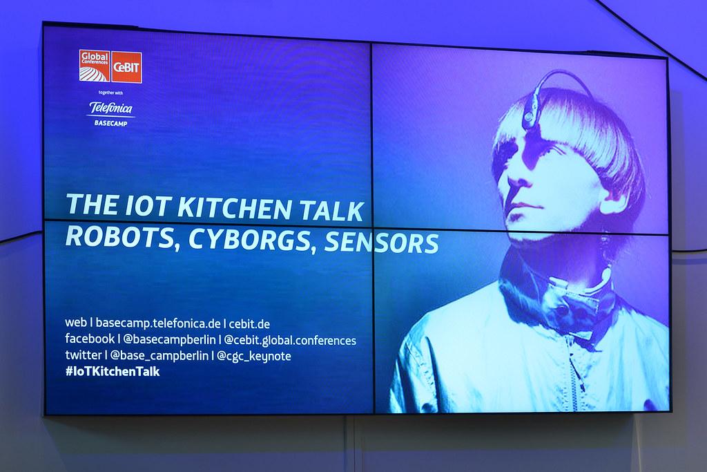 The IoT Kitchen Talk: Robots, Cyborgs, Sensors