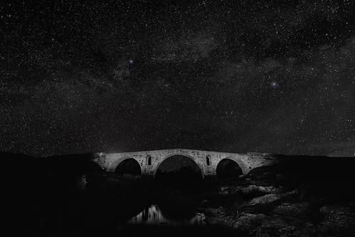 Provence - Roman bridge (Pont Julien)