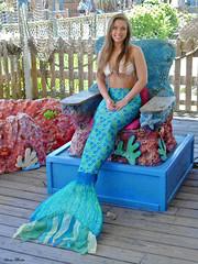 Mermaid Posing, Weeki Wachee Springs