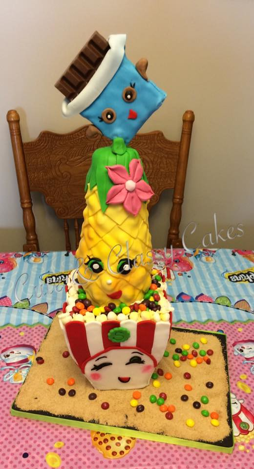 Shopkins Cake by Cute & Classy Cakes